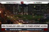 New technology uses light to power...
