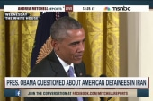 Obama questioned about US detainees in Iran