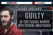 Aurora shooter James Holmes found guilty