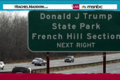 Donald J Trump State Park? Not exactly.