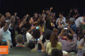 Behind-the-scenes at the Netroots conference