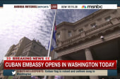 'Turning the page': US, Cuban embassies open