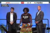 Activists interrupt Dem. presidential forum