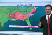 Triple-digit temperatures bake parts of US