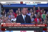 John Kasich announces presidential campaign