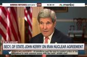 Kerry address Iran deal critics in Congress