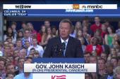 'Moderate' Kasich launches presidential bid