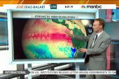 El Niño phenomenon brings severe weather