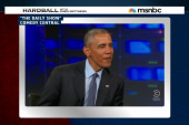 Pres. Obama makes final appearance with...