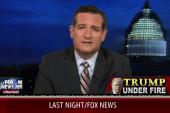 Ted Cruz backs Trump on immigration