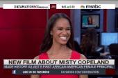 Ballerina Misty Copeland breaks barriers