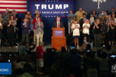 Trump dominates media coverage among 2016ers