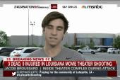 Lafayette shooting witness: 'It was a...