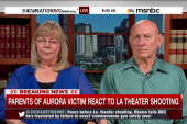 Aurora victim's parents react to Lafayette