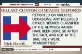 Clinton campaign responds to DOJ probe