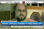 Is Israeli spy eligible for release?