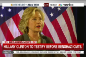 Clinton to publicly testify on Benghazi