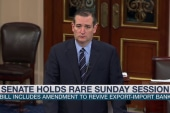 Rare Senate session follows Cruz accusation