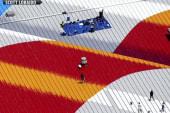 Artist paints flag memorials across US