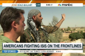 An Americans fight against ISIS