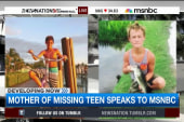Mother of missing teen boaters speaks out