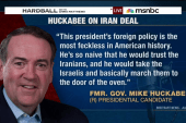 Huckabee, GOP attack Iran deal