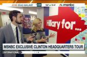 Inside Hillary Clinton's campaign HQ