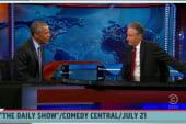 Politico: Jon Stewart secretly visited Pres.