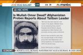 Reports: Taliban leader Omar Mullah dead