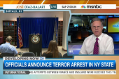 Officials announce terror arrest in New York