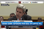 Defending Iran deal on Capitol Hill