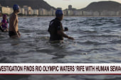 Report: High levels of sewage in Rio water