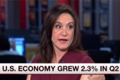 US economy grows over two percent in Q2