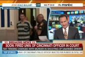 Fired Univ. of Cincinnati cop in court