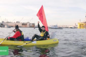 Kayaktivist take on Shell's Arctic plan