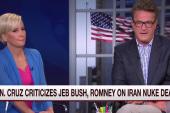 Cruz criticizes Bush, Romney on Iran deal