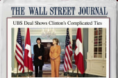 WSJ explores Clinton's ties to mega bank