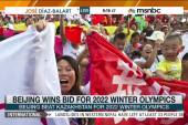 Beijing named Winter Olympics host