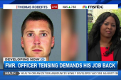 Former officer trying to get job back