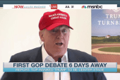 Eyes on Trump ahead of first 2016 GOP debate