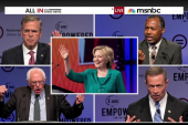 Presidential hopefuls on racial justice