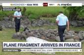 Plane fragment arrives in France