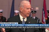 Joe Biden running in 2016?