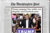Trump fires staffer over racists rants