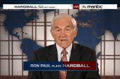 Fmr. Rep. Ron Paul plays Hardball