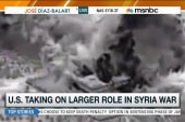 US wades deeper into war in Syria