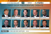 Who makes the cut in first GOP debate?