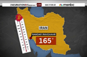 Heat index tops 165 degrees in Iran