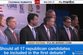 Who will be in first GOP debate?