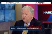Haley Barbour plays Hardball
